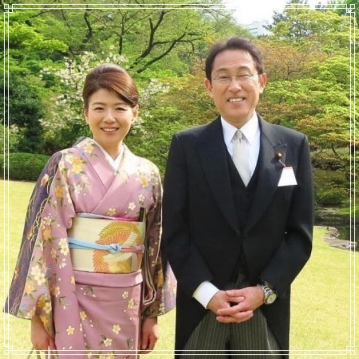 岸田文雄と裕子夫人